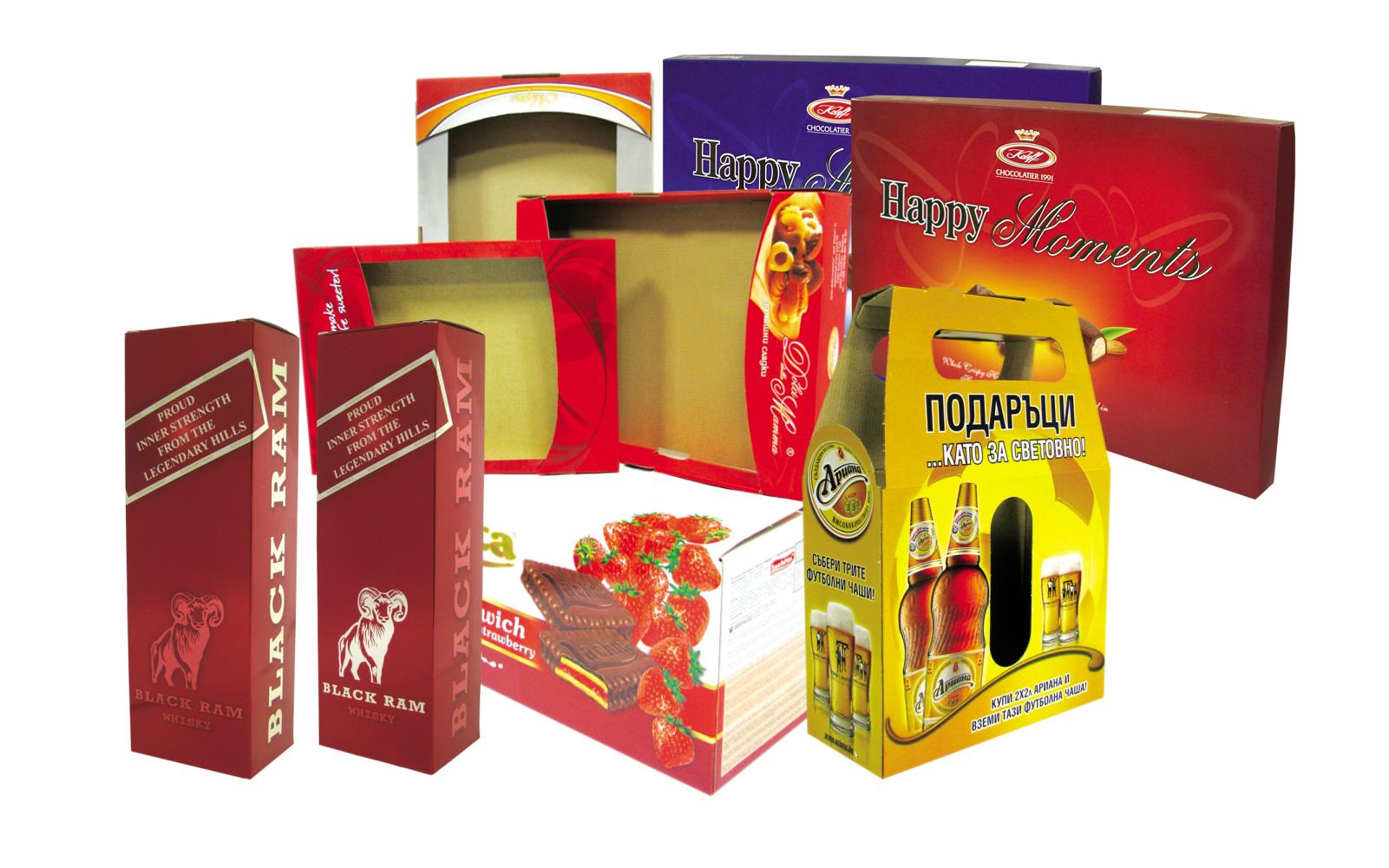 коробки из микрогофрокартона в Воронеже