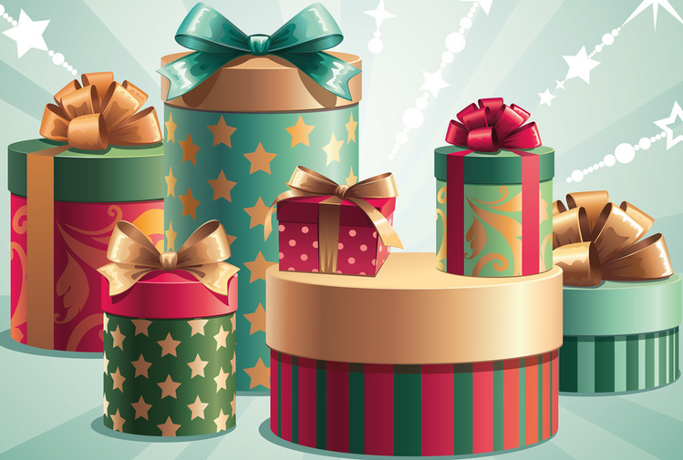 картинки коробки подарочные