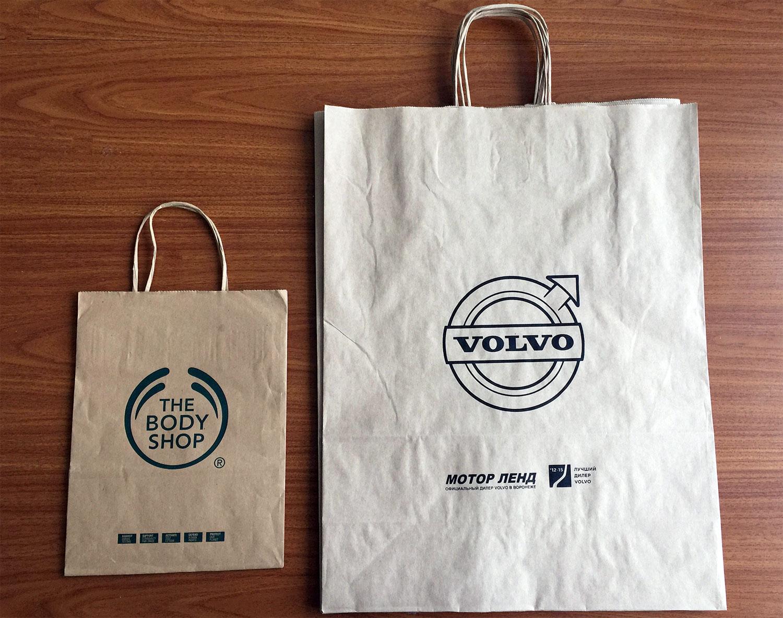 Пакеты с логотипом в беларуси